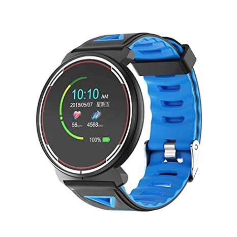 Amazon.com: ST1 Smart Watch Men with Heart Rate Monitor ...