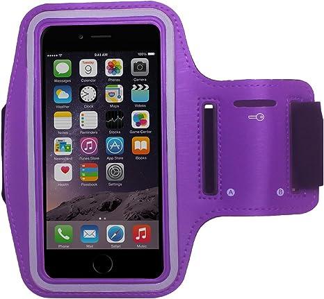 Práctica Sport-brazalete deportivo para Smartphone & MP3 reproductor con llave para el PrimaCase morado Galaxy Grand 2: Amazon.es: Informática