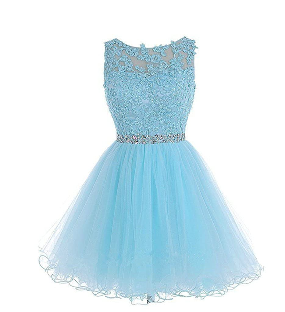Amazon.com: Drasawee Short Tulle Evening Cocktail Ball Gowns Prom Dresses for Teen Girls: Clothing