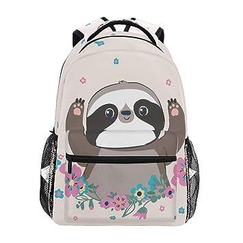 Cute Frog Printed Casual Laptop Backpack College School Bag Travel Daypack