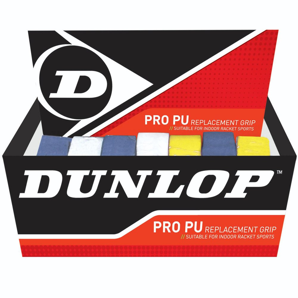Dunlop Hydromax Racquet Sports Pro Pu Racket Handle Replacement Grips Box Of 24 by Dunlop