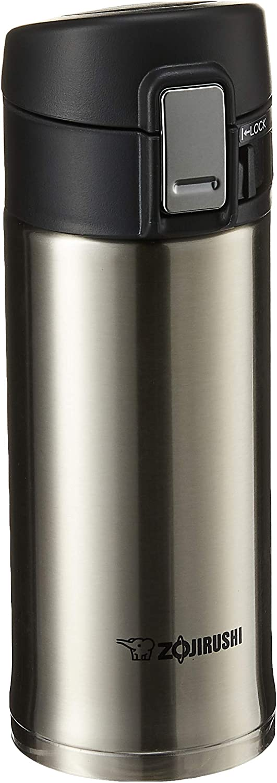 Zojirushi 0.36-Liter Stainless Steel Travel Mug, 12-Ounce, Silver