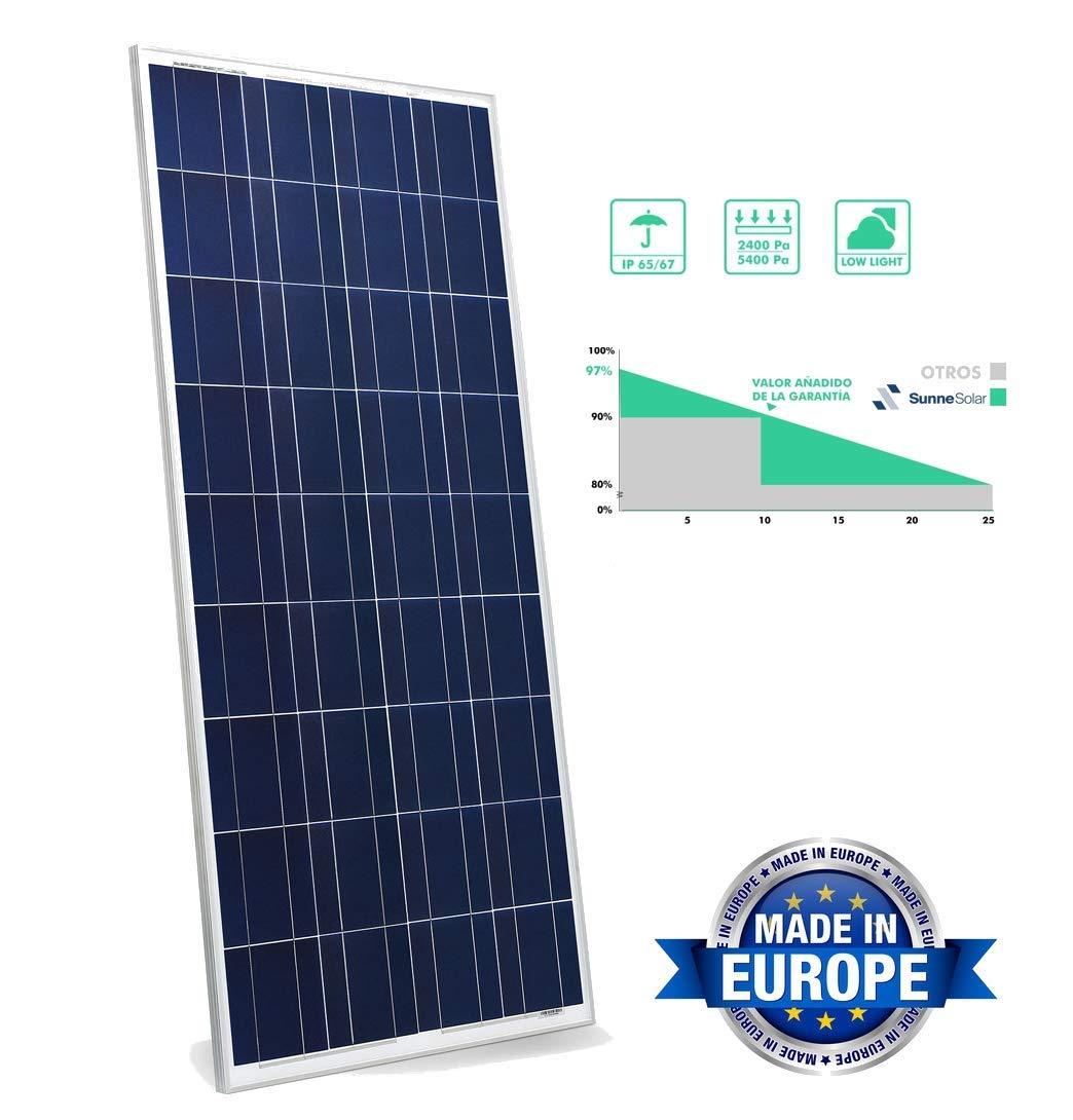Panel solar 280w 60 Células 24v 12v Polycrystalline Fotovoltaica