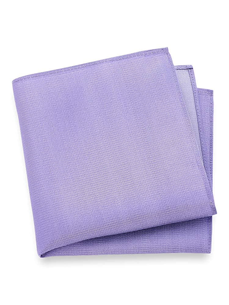 Paul Fredrick Mens Textured Solid Pocket Square
