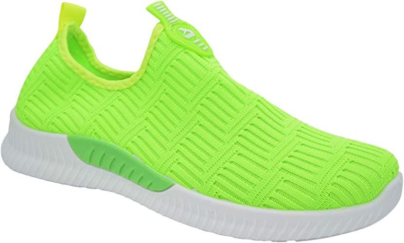 New Ladies Womens Comfy Slip On Trainers Sneakers Gym Sports Shoes Size Runners