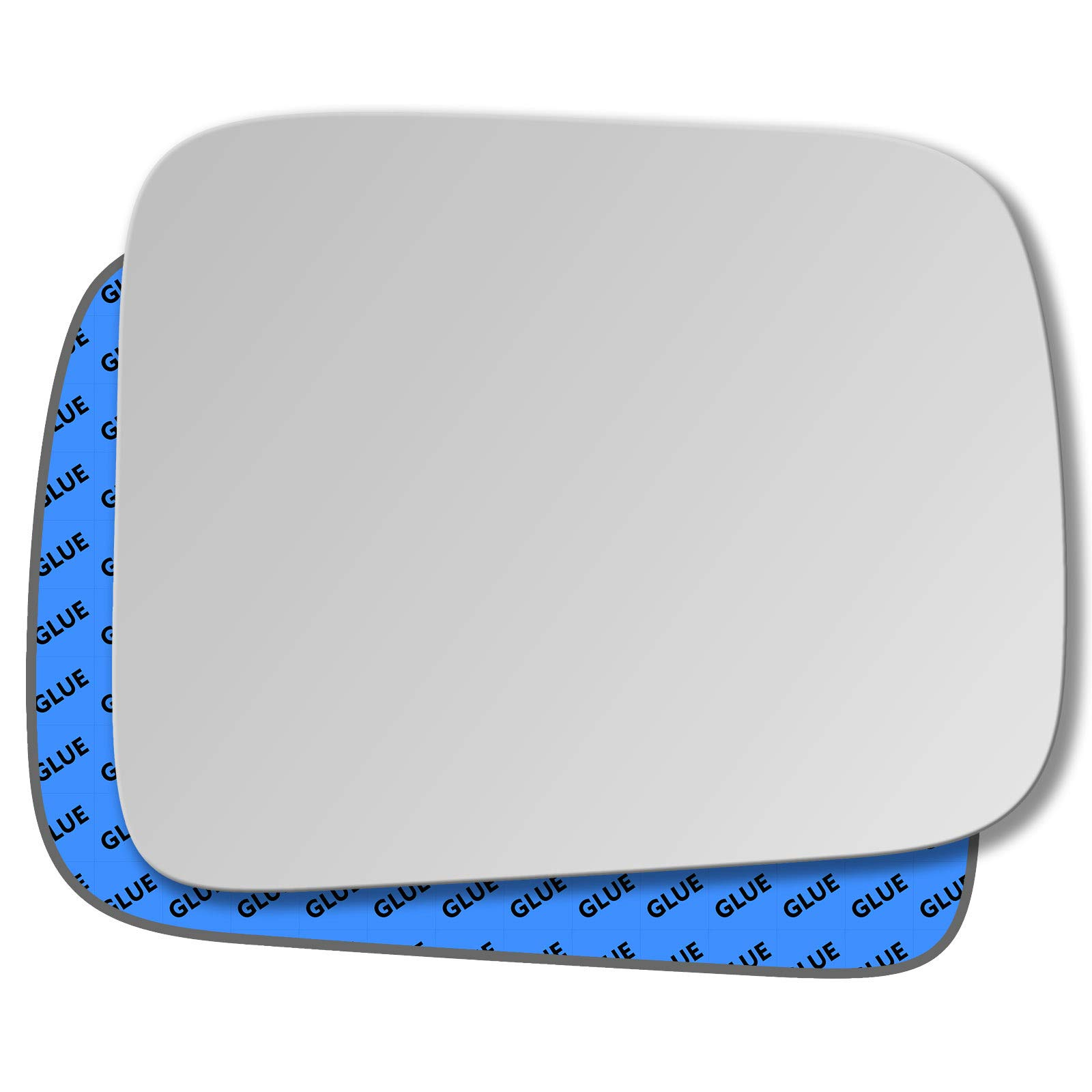 Hightecpl 743RAS Right Hand Driver Off Side Wide Angle Wing Mirror Glass Replacement