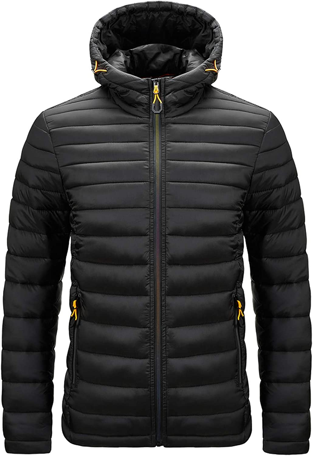 Vcansion Women's Lightweight Hooded Puffer Jacket Winter Quilted Padding Coat