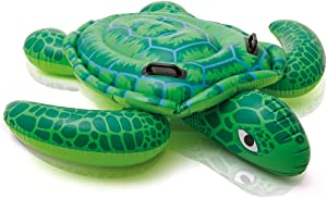 "Intex Lil' Sea Turtle Ride-On, 59"" X 50"", for Ages 3+"