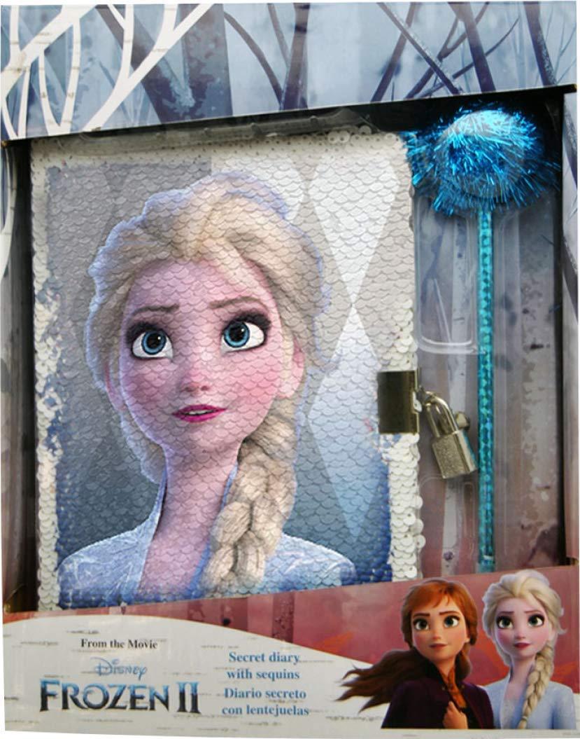 Kids Licensing Frozen 2 Diario Sequins con Bol/ígrafo
