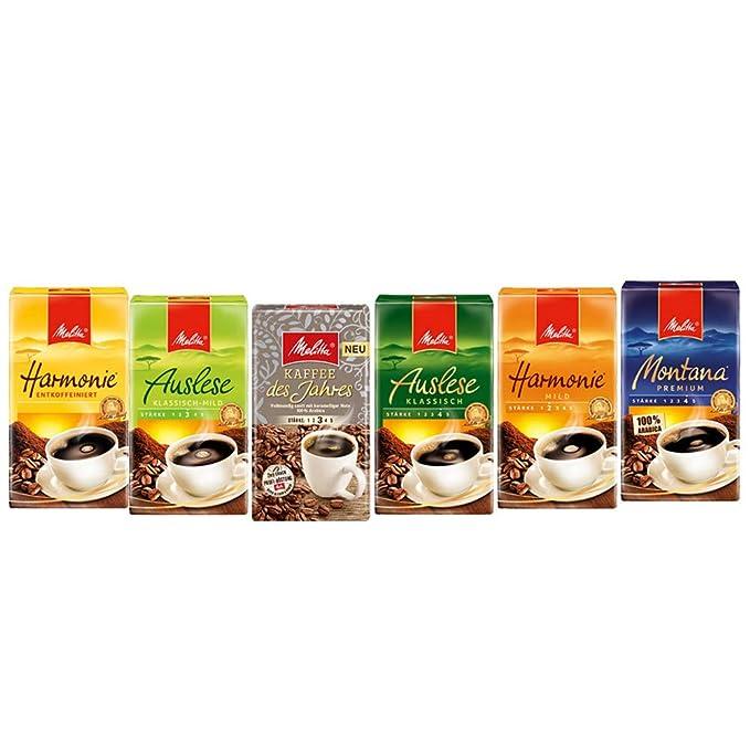 Melitta Café antilectura Klassisch, 12 unidades (12 x 500 g Paquete): Amazon.es: Alimentación y bebidas