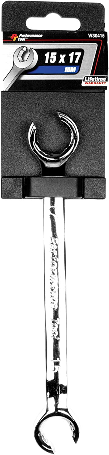 Performance Tool W30415 15mm by 17mm Flare Nut Wrench