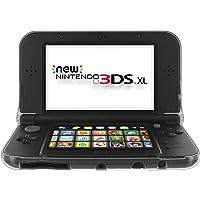 PUBAMALL Anti-Scratch Hard Case para Nueva Nintendo New 3DS XL, Crystal Clear Case para Nueva Nintendo 3DS XL/LL