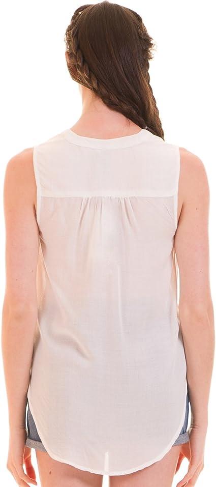 Camisa Blanca asimétrica de Blend She (L - Blanco): Amazon.es ...