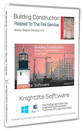 Building Construction Related To The Fire Service Study Software Version 4 0 Knightlite Software