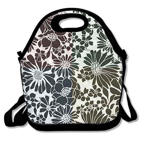 PengYou Four - Quadrant Color Batik Pattern. Lunch Tote Bag Lunchbox With Adjustable Shoulder Strap For Work Kids Women Men - Quadrant Kit