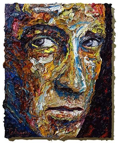 (UNTITLED m1083 - Original oil painting portrait)