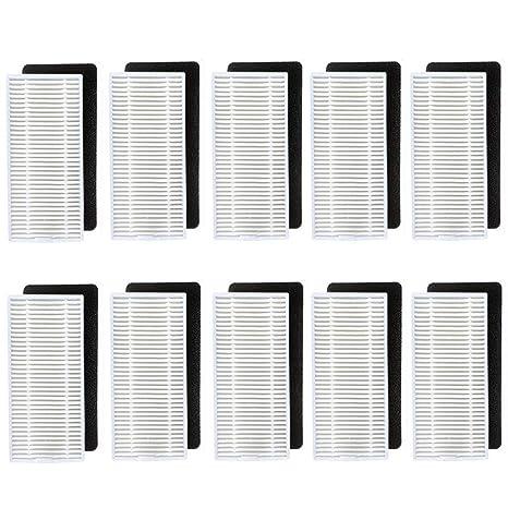 Amoy Accesorios de filtros Compatible Conga Excellence Eufy RoboVac 11 RoboVac 11c,10 Sets