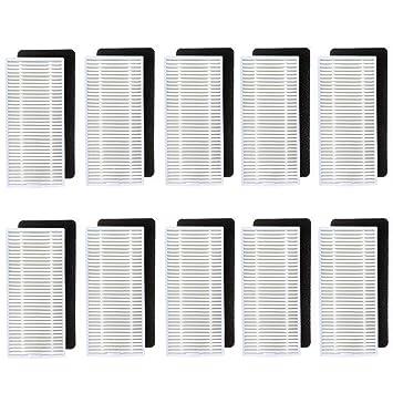 Amoy Filtros Accesorio de Reemplazo Compatible Conga Excellence 990 aspiradores,10 Sets