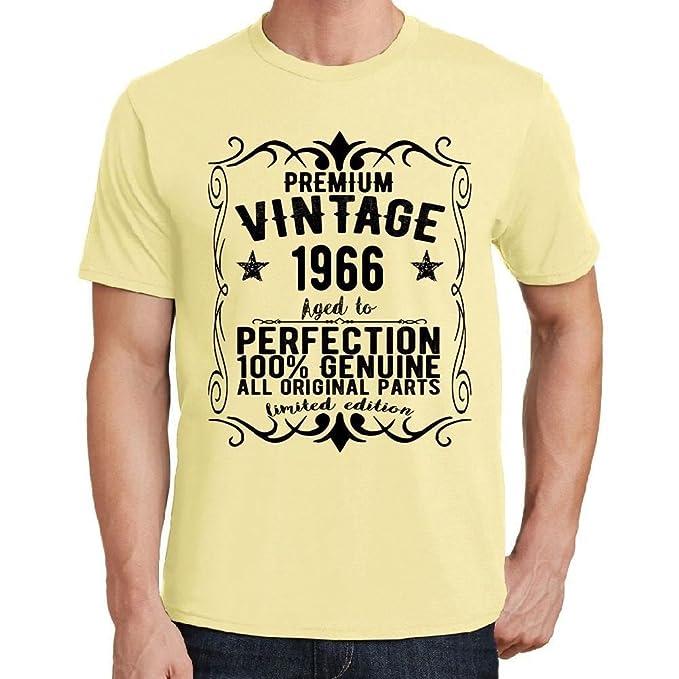 One in the City Premium Vintage Year 1966 Amarilla Camiseta ...