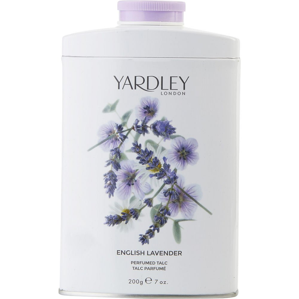YARDLEY by Yardley ENGLISH LAVENDER TIN TALC 7 OZ (NEW PACKAGING) for WOMEN ---(Package Of 4)