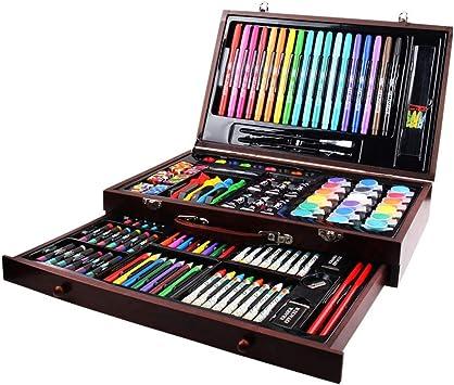 szegwh Set de Arte de 123 niños: Artista Principal para Colorear y Pintar Estuche, Color: Amazon.es: Juguetes y juegos