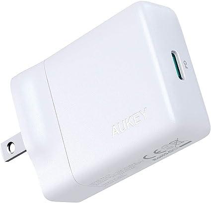 Amazon.com: AUKEY Cargador USB-C con 30 W de entrega de ...