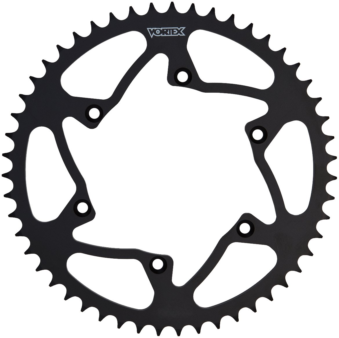Vortex 422S-51 Black 51-Tooth 520-Pitch Steel Rear Sprocket