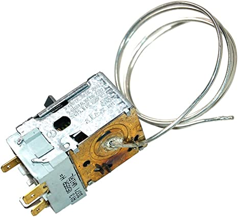 Genuine SMEG Frigorífico Congelador termostato 818731316: Amazon ...
