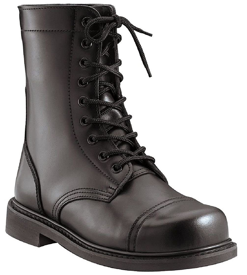 95a62f05b6b Amazon.com: Combat Boots Black Military Style 9