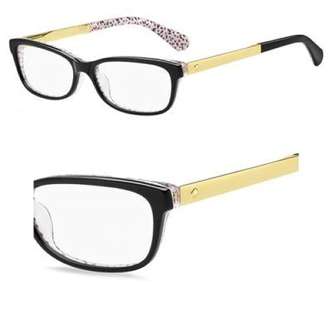 b603860c57b7 Eyeglasses Kate Spade Jessalyn 0UYY Black Pattern Red: Amazon.ca: Clothing  & Accessories