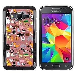 Dragon Case - FOR Samsung Galaxy Core Prime - I was prepared for everything - Caja protectora de pl??stico duro de la cubierta Dise?¡Ào Slim Fit