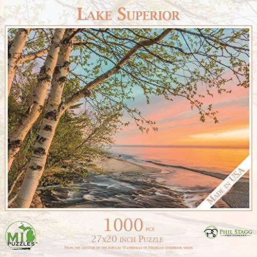 Lake Superior - 1,000 Piece MI Puzzles Jigsaw Puzzle