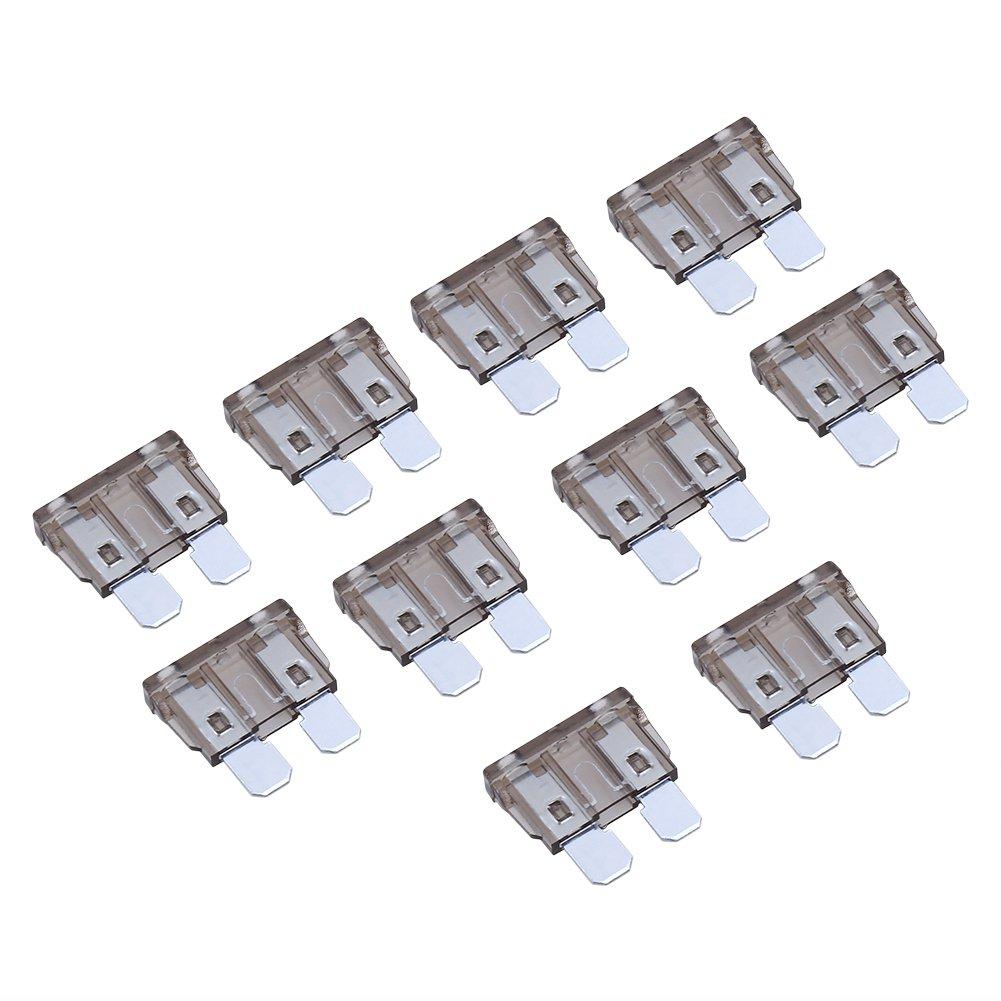 Yosoo 100pcs Standard Fuse Assortment Kit-2,3,5,7.5,10,15,20,25,30 35 Amp-ATC Blade Fuses for Cars Trucks Boats