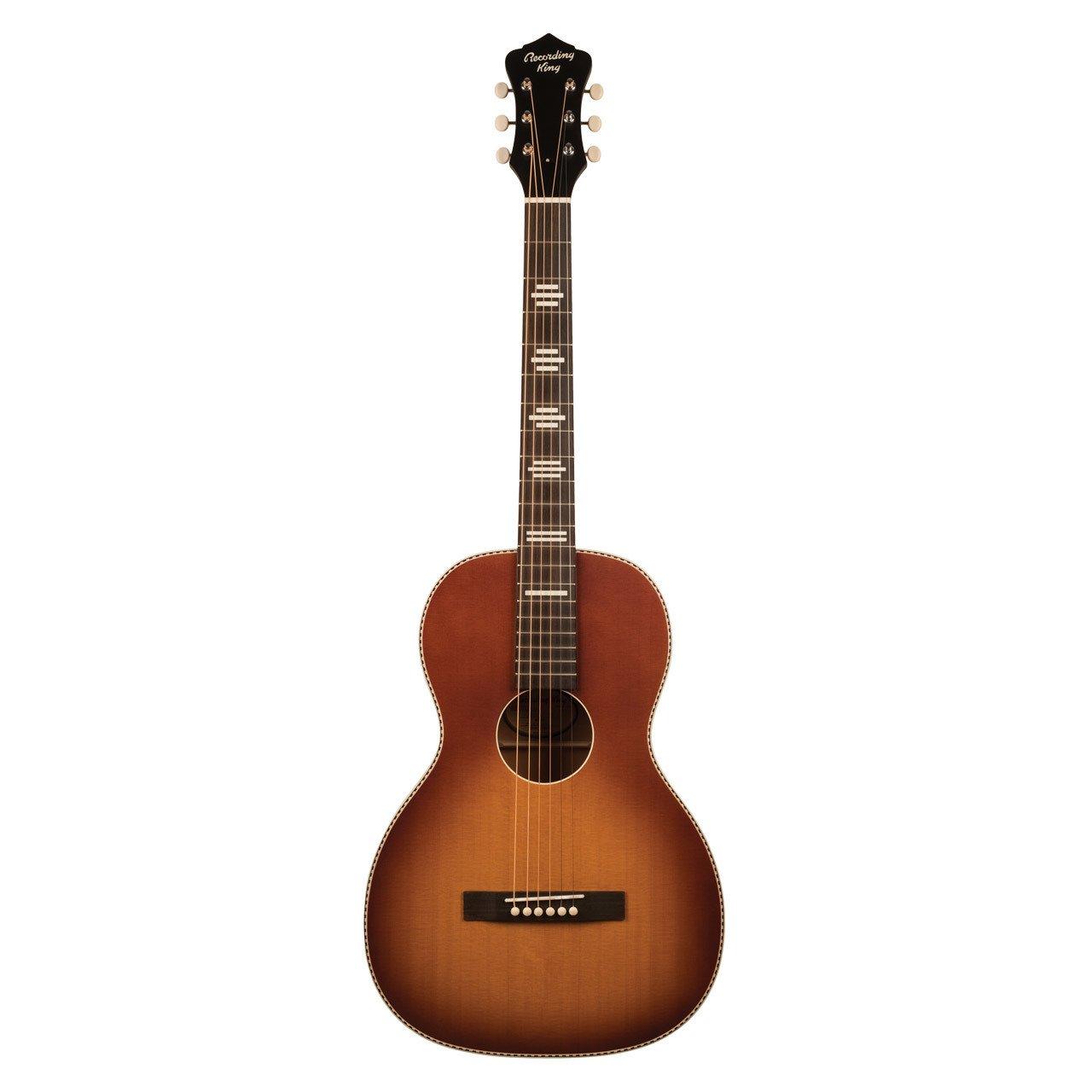 Recording King RPS-7-TS Dirty 30's Series 7 Single 0 Acoustic Guitar, Tobacco Sunburst