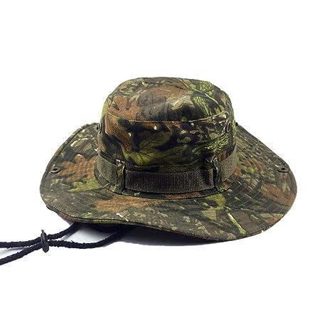 LQ-MAOZI Sombrero De Pescador Al Aire Libre Adecuado para La Selva ...