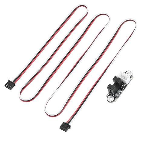 Wendry Extremo óptico con Cable de 1M, módulo de Interruptor de ...