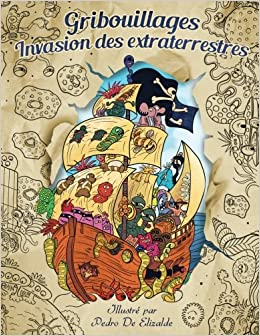 Coloriage Magique Extraterrestre.Gribouillages Invasion Des Extraterrestres Coloriages Adultes S