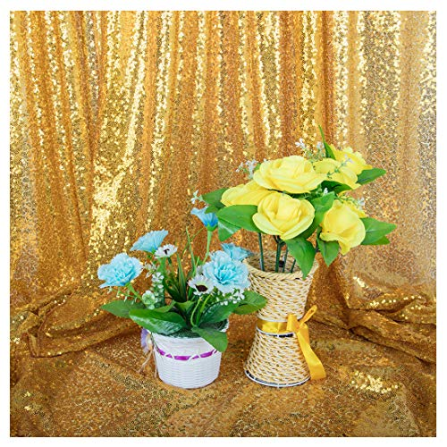 Gold/Black Sequin Photo Backdrop Studio Shiny Fabric Photo Photography Backdrop