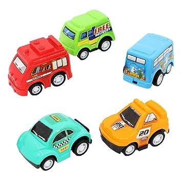 Amazon.com: Wcysin - Pack de 5 coches de juguete para bebés ...