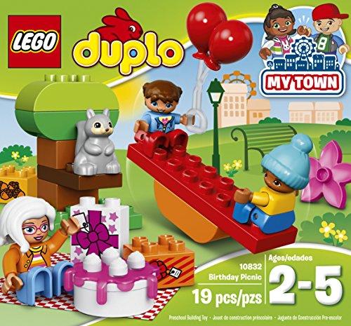 61u%2BsyPTabL - LEGO DUPLO My Town Birthday Party 10832, Preschool, Pre-Kindergarten Large Building Block Toys for Toddlers