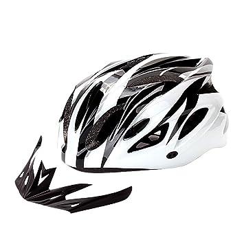 Rpzzy Bicicleta Casco de protección Ultraligero Visera Solar para ...