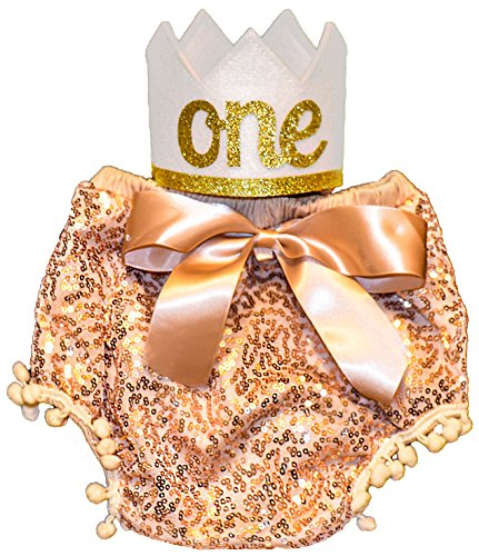 Sweet Cakes Baby (First Birthday Baby Girl Outfit Golden Bloomers