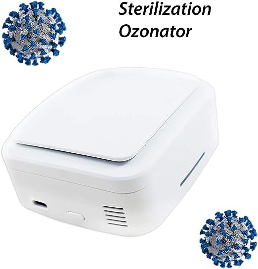 Purificador de Aire. Ozonizador doméstico. Ozono para coche y hogar. Generador de Ozono desinfectante. Máquina ozono portátil. Purificador ozono casa. Ideal para coche, baño, cocina, armarios, etc.: Amazon.es: Hogar