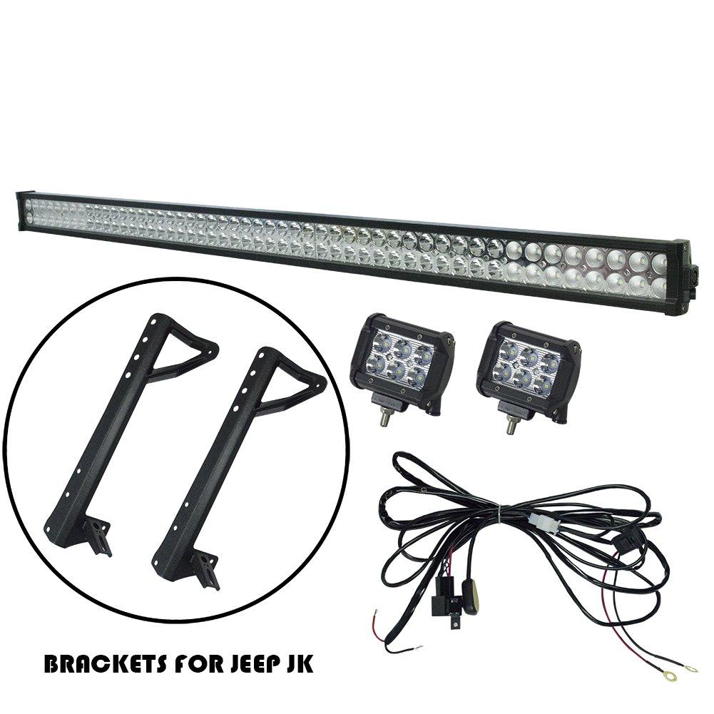 itspwr 18w led work light bar 2pcs 6 inch spot led work