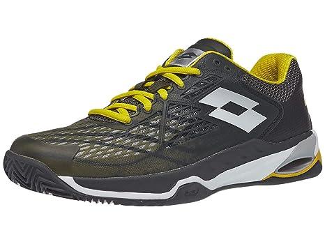 Lotto Mirage 100 Clay Court Shoe Men Grey: Amazon.es: Deportes y ...