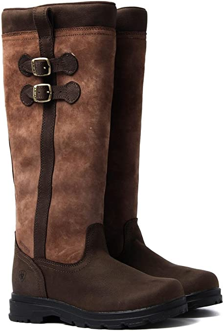 Ariat Eskdale Womens Leather H20 Boot Java Brown