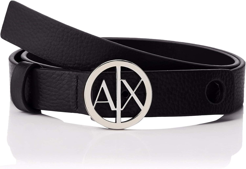 Armani Exchange Circle Logo Belt Cinturón para Mujer