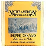 Teepee Dreams Native American Herbal Tea (100 Tea Bag Box), Peppermint Flavor