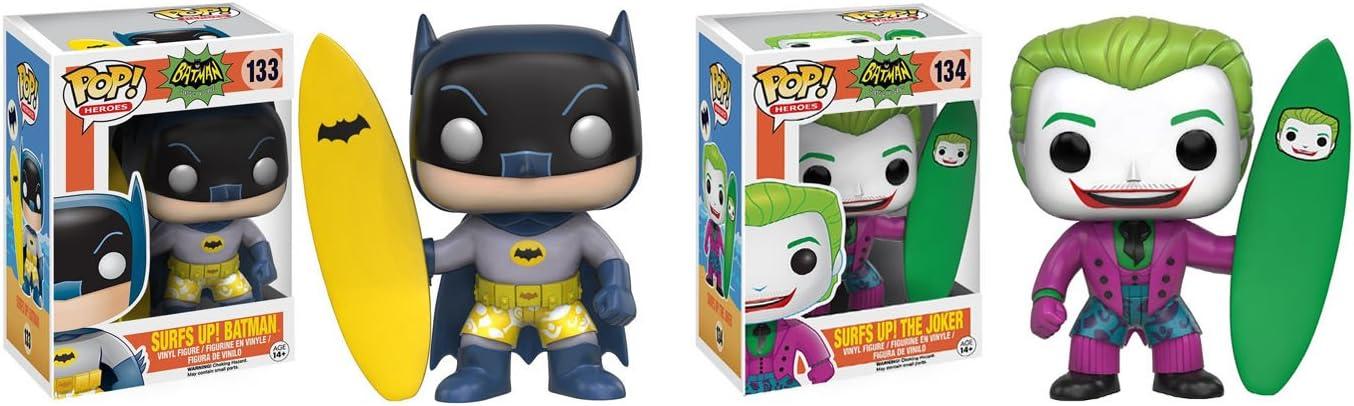 The Joker Pop Surfs Up Vinyl Figure Batman Classic TV Series FUNKO BRAND NEW