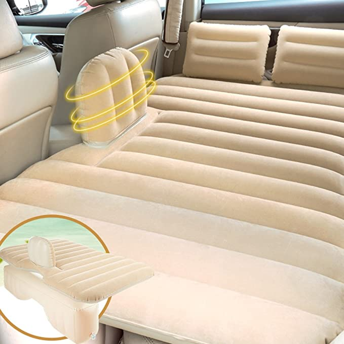 Amazon.com : SUV Auto Trucks Sedans Mattress Air Bed For Car Toddler Kids Outdoor Travel Camping Inflatable Back Seat Sex Airbed (Color : Beige) : Sports & ...